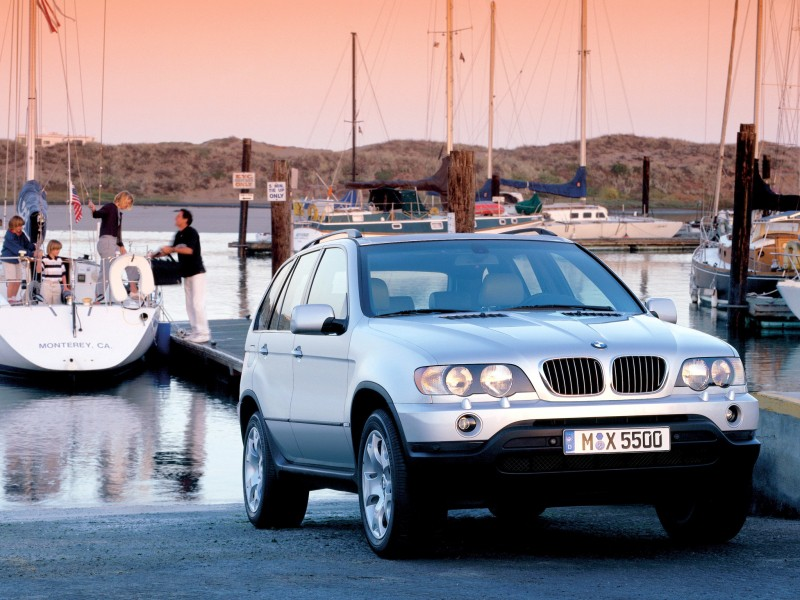 Обзор BMW X5 2000 - 2007