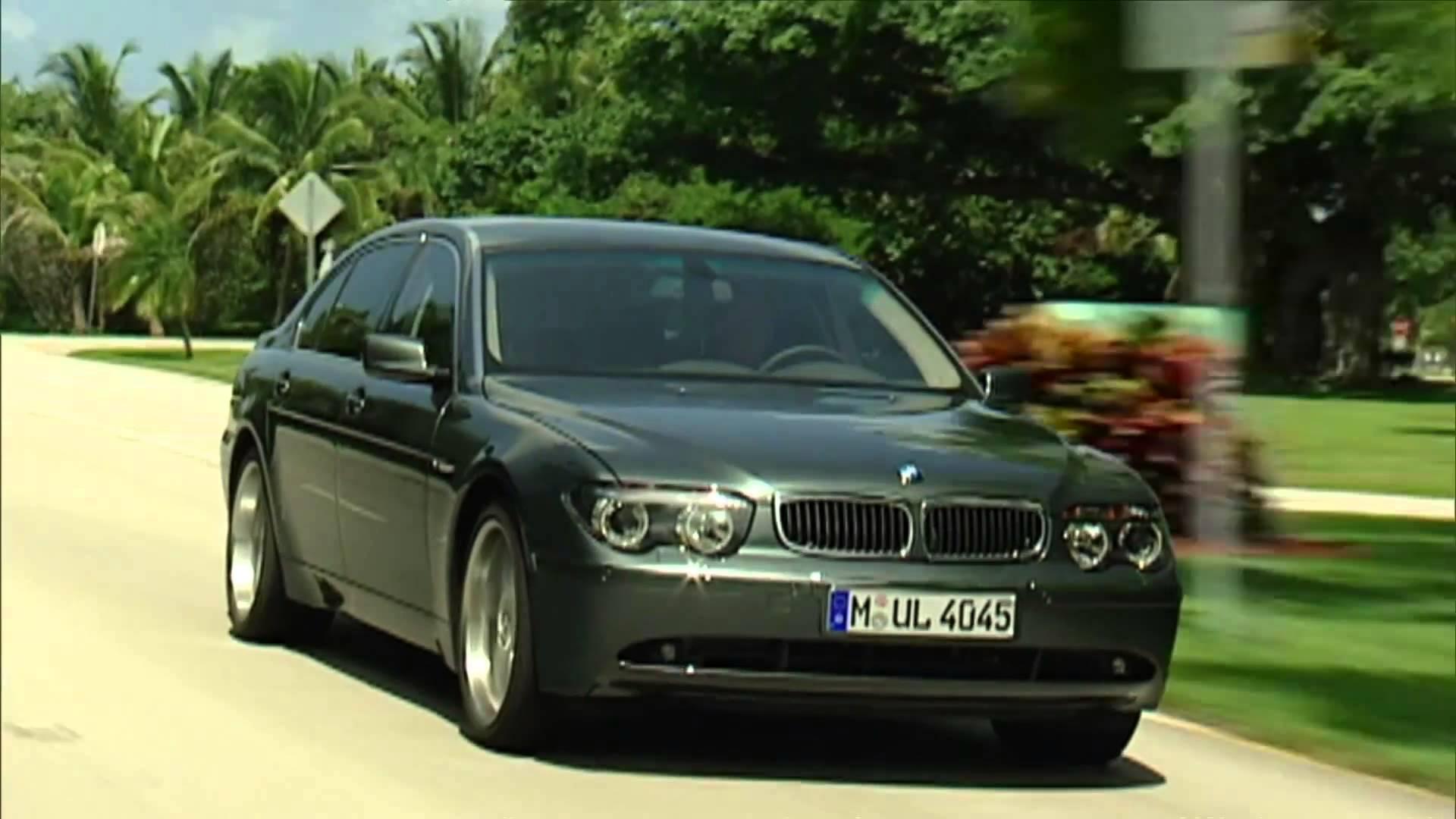 Обзор BMW 7-series 2001 — 2008