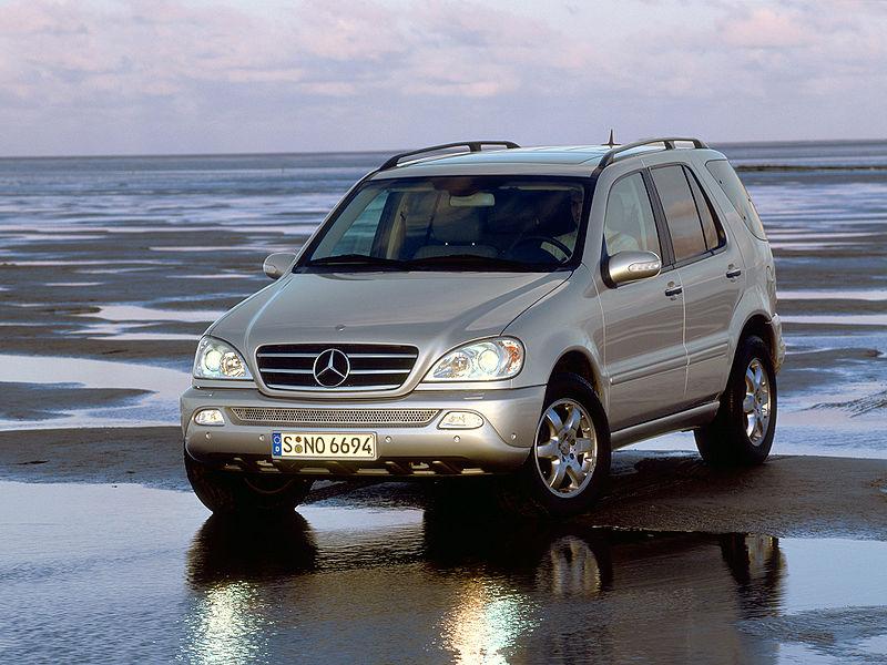 Обзор Mercedes M-Class 1997 — 2005 года