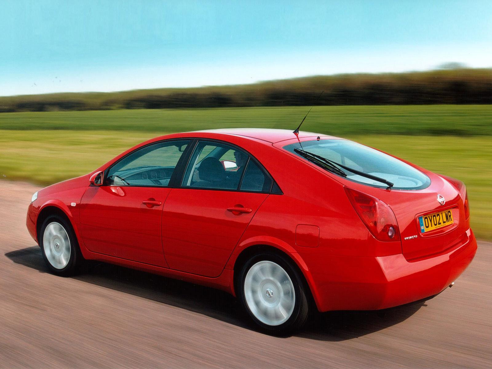 Обзор Nissan Primera 2002-года