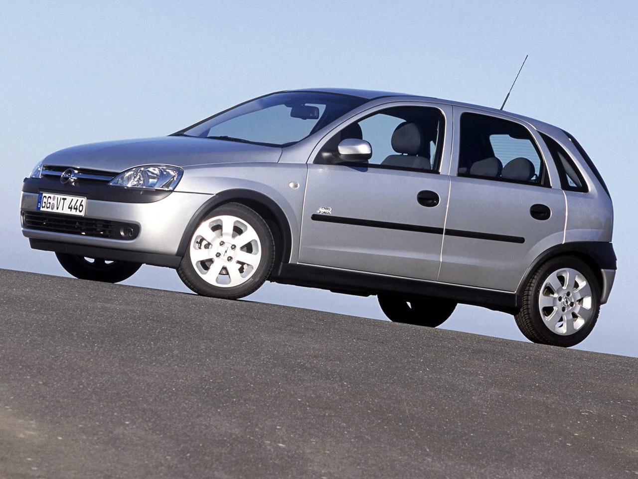 Обзор Opel Corsa 2000 — 2006 года