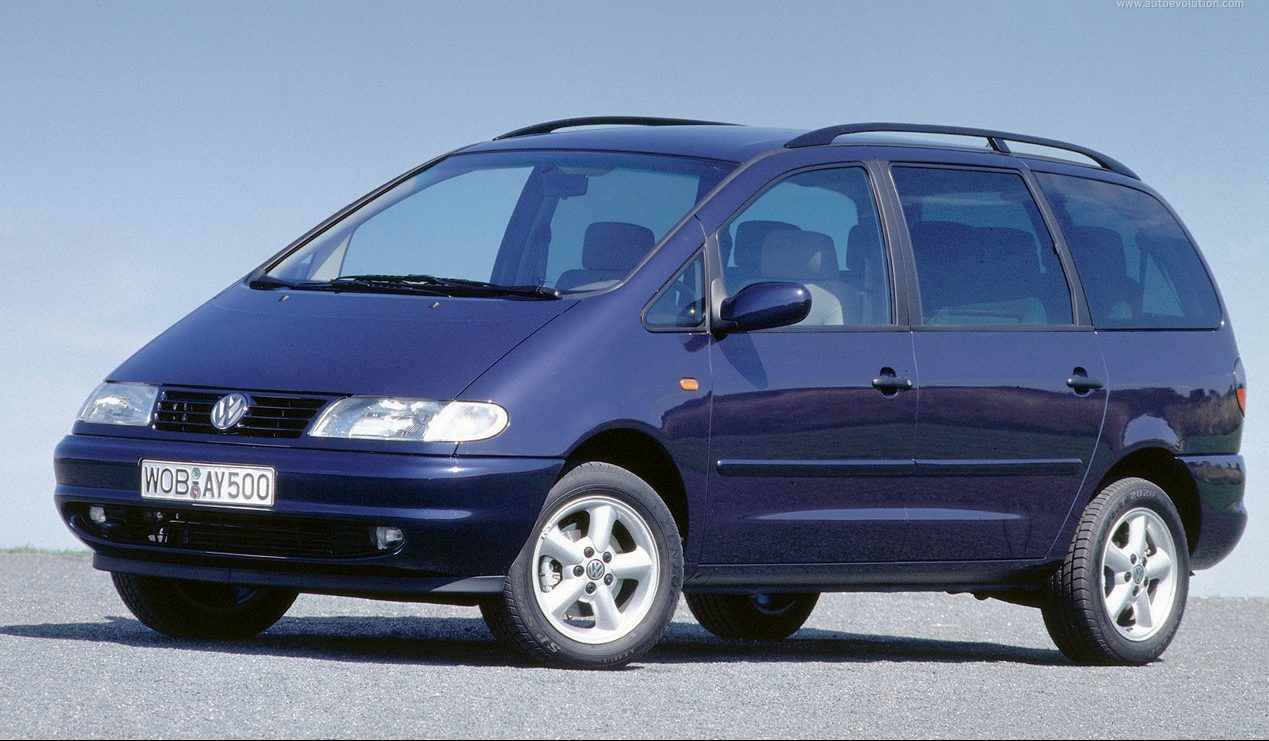 Обзор Volkswagen Sharan 2000 — 2006 года