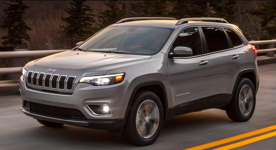 Jeep Cherokee 2019 экстерьер