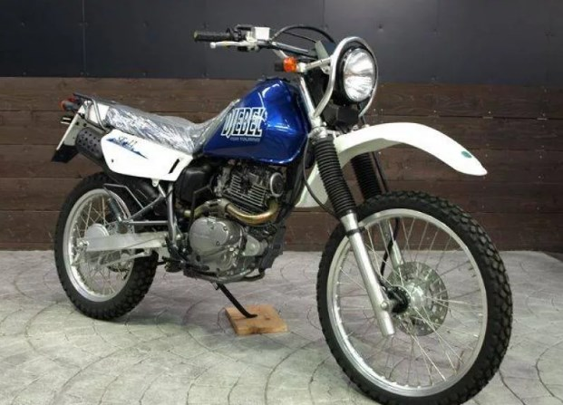 Обслуживание мотоцикла Suzuki Djebel 200