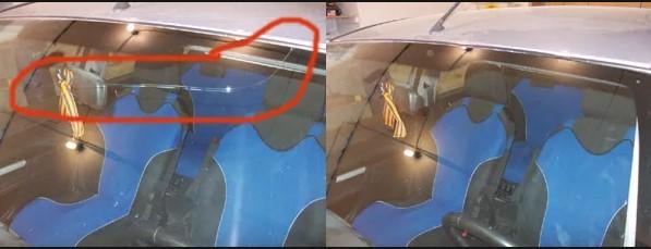 Как заклеить трещину на лобовом стекле автомобиля