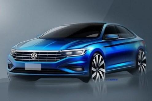 Volkswagen Jetta дебютирует в Детройте