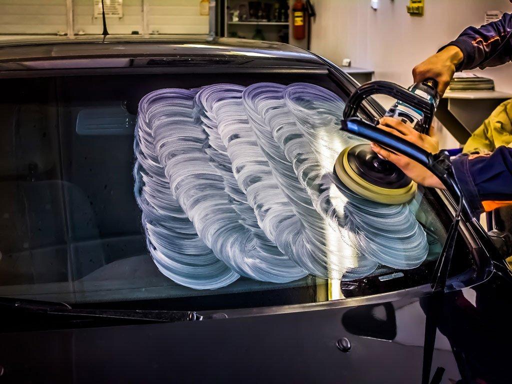 Полировка автомобильных стекол. Руководство шаг за шагом