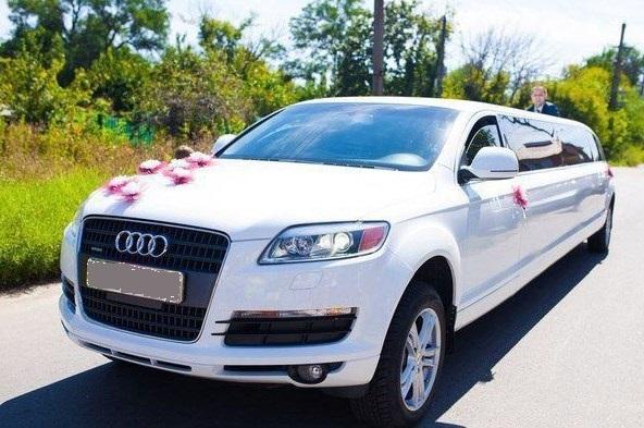 авто на свадьбу в спб ауди лимузин