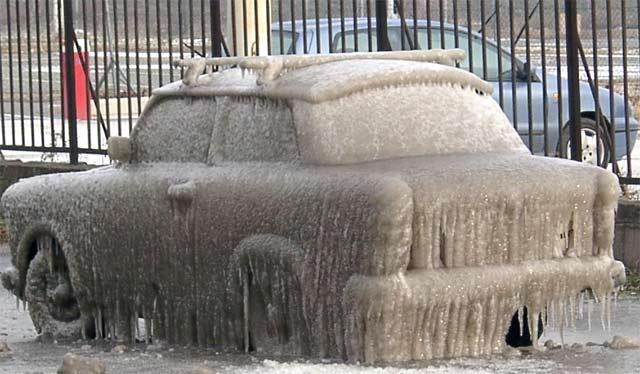 Как ликвидировать лед на автомобиле