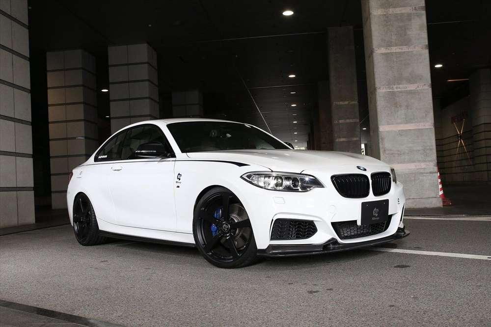 Мастера из 3D Design создали пакет для BMW 1-Series