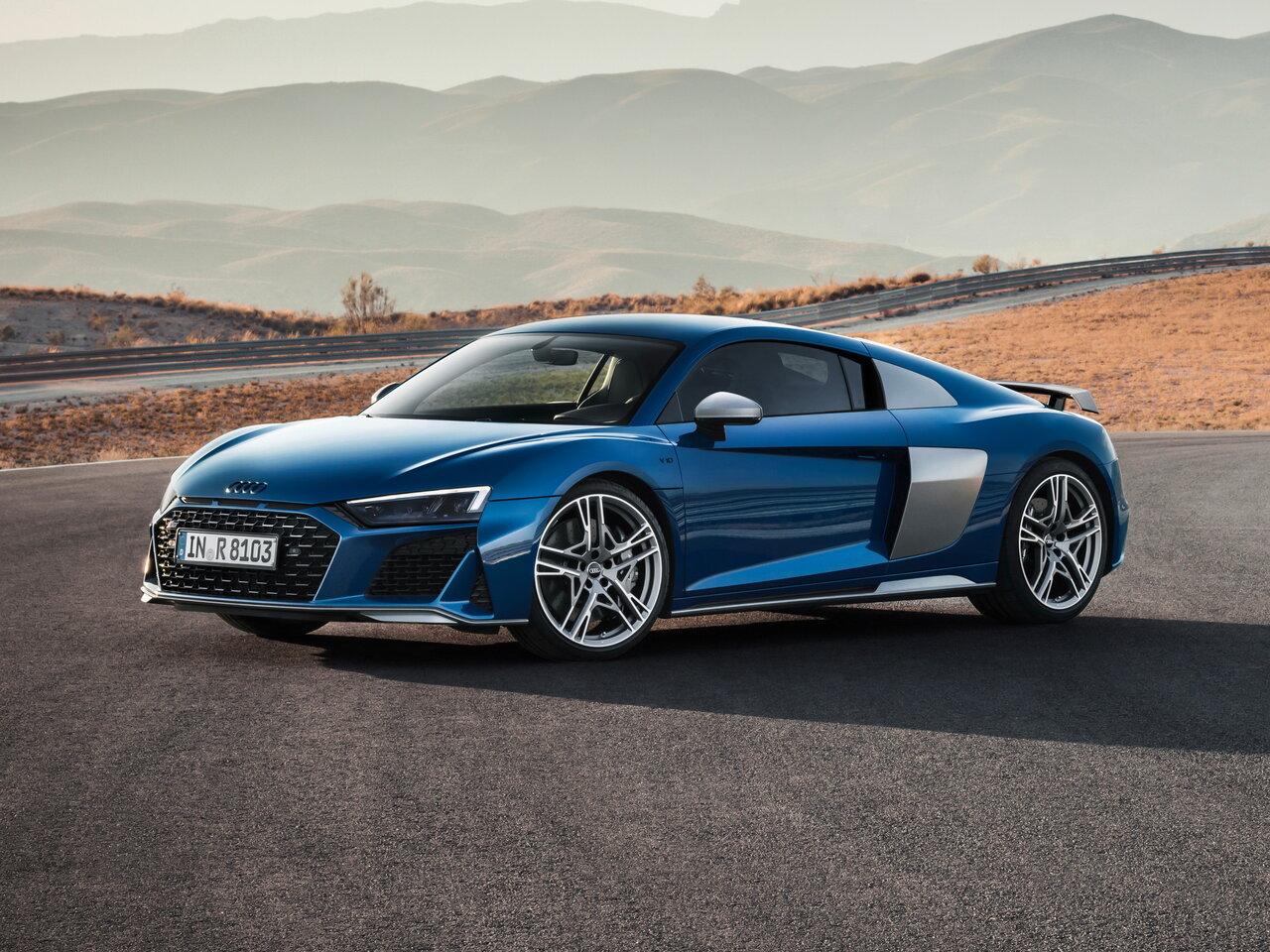 Новая модель Audi R8 уже на пути
