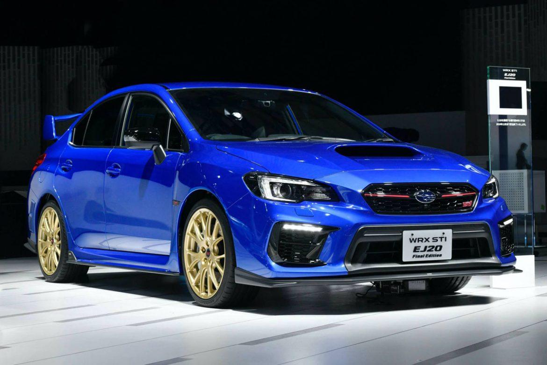 У Subaru WRX STI появилась прощальная версия