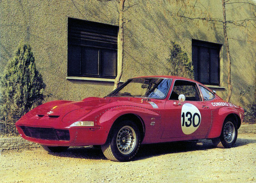 1970 года. Opel GT