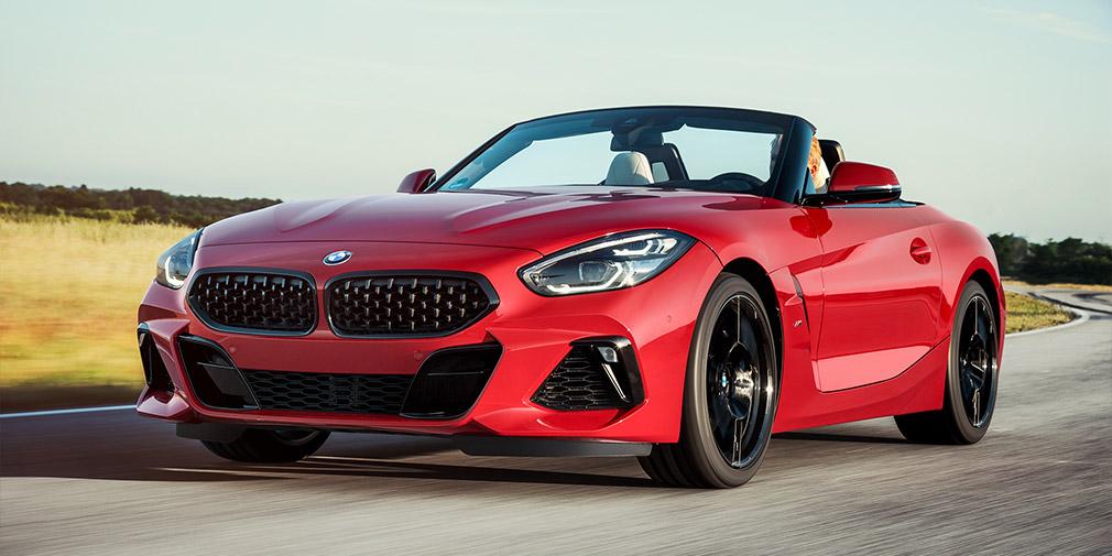BMW продемонстрировала в Штатах Z4 2014