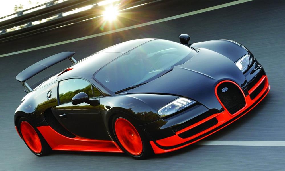 История автомобиля Bugatti Veyron Super Sport