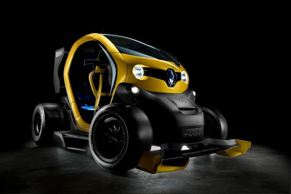 Renault презентовала концепт Twizy RenaultSport F1
