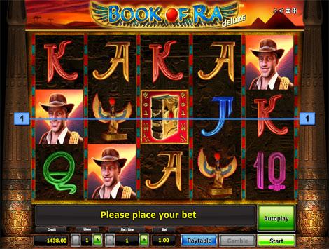 Игровой автомат Gaminator Book of Ra Deluxe (Книга Ра Делюкс)