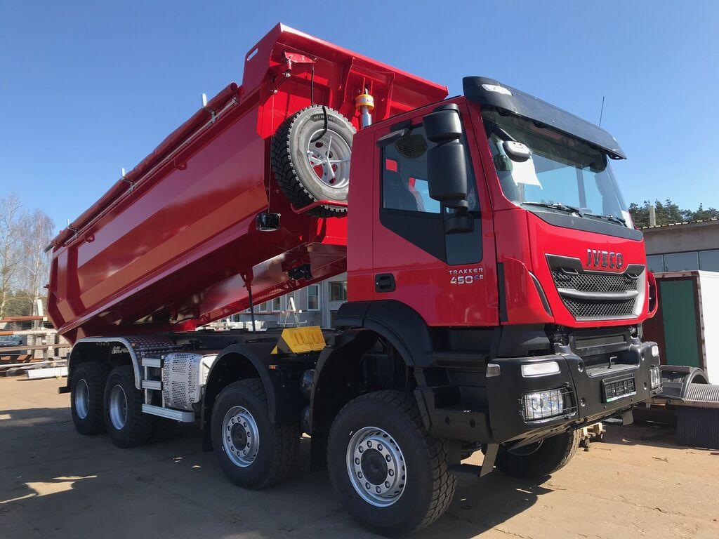 Крупнотоннажный грузовик Iveco Trakker. Обзор и отзывы