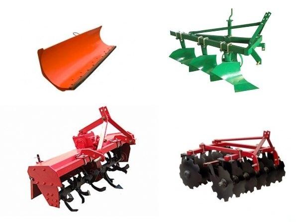 Оборудование для мини-трактора