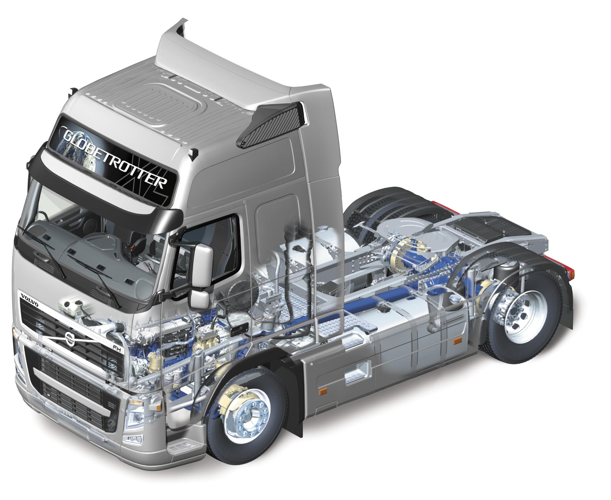 купить запчасти на европейский грузовик. Фото