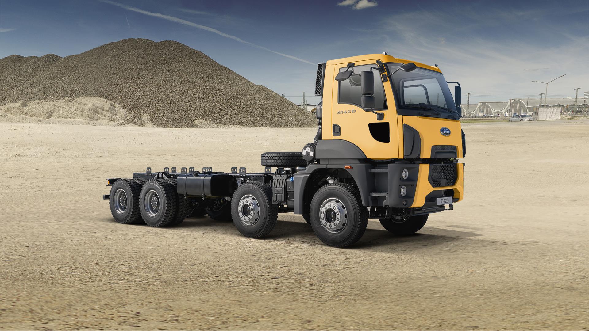 Ford Trucks 4142D фото