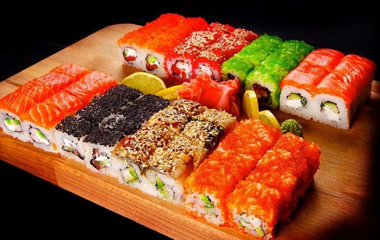 Почему полезны суши?