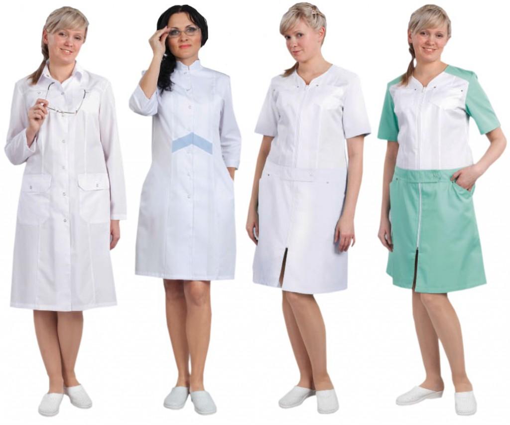 Качественные женские медицинские халаты