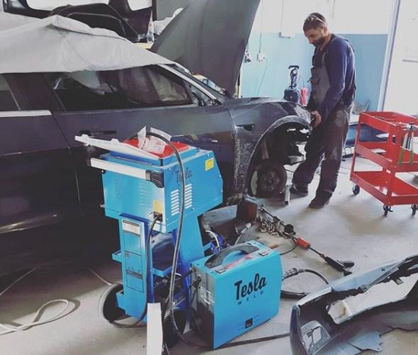 Тесла Сервис Украина —  ремонт электромобилей любой сложности