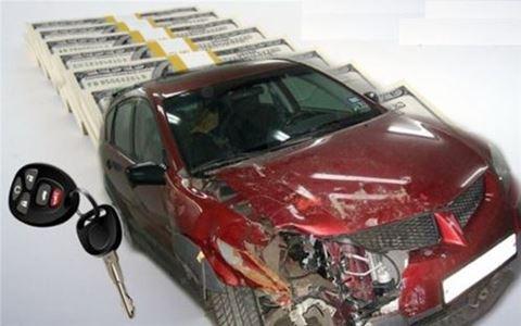 Как быстро продать разбитый автомобиль?