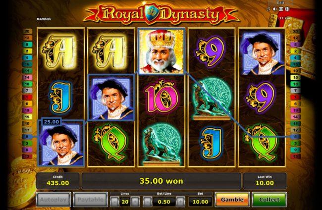 Лотомат Королевская Династия онлайн бесплатно в Космолот