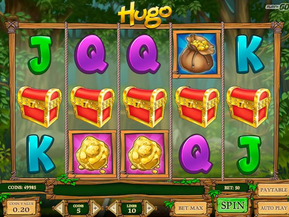 Игровой автомат Hugo онлайн от Play'n Go