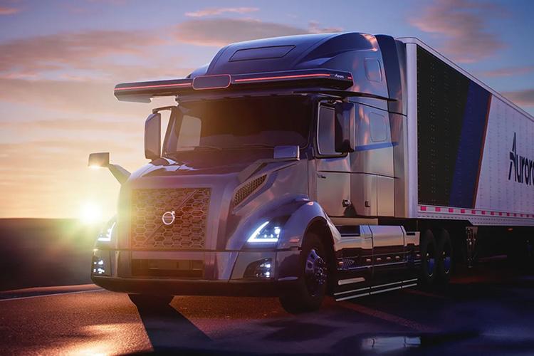 Volvo и Aurora объединились для создания беспилотных грузовиков для Северной Америки