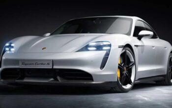 Porsche Taycan фото