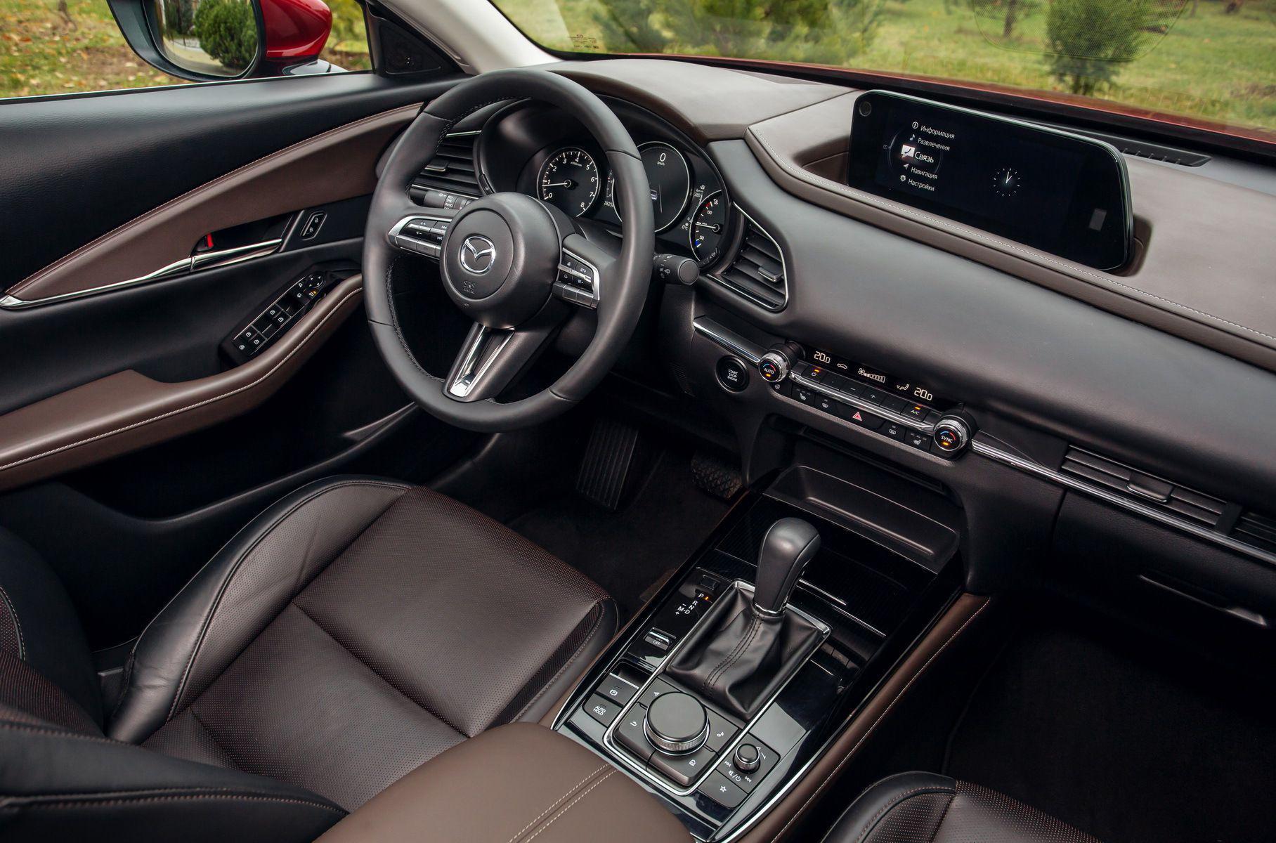 Mazda CX-30 салон