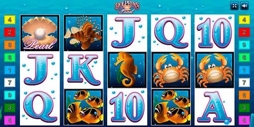 Азартная игра Dolphins Pearl от Novomatic игровое поле