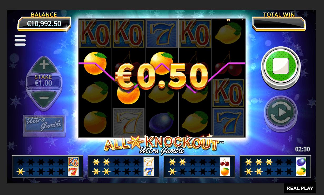 Игровой автомат All Stars Knockout Ultra Gamble