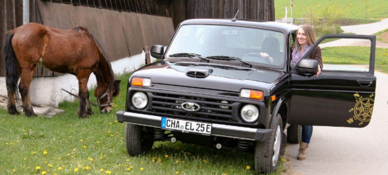В Германии придумали, как сделать Lada Niva электрической