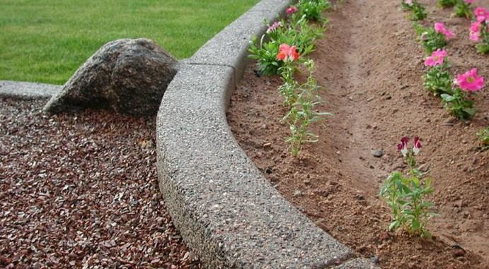 Особенности садового бордюра
